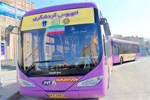 استقبال مسافران نوروزی از اتوبوس های گردشگری در آذربایجان غربی