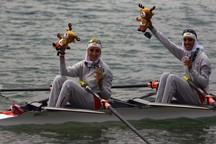 ادامه درخشش دختران قایقرانی با کسب دو مدال نقره برای کاروان ایران