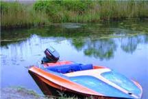 کشف یک فروند قایق موتوری قاچاق در تنکابن