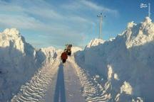 برف ۲ متری در آذربایجان شرقی + عکس