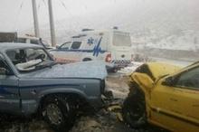 تصادف رانندگی در شهرستان کوهرنگ 11 مصدوم برجا گذاشت