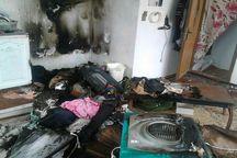 انفجار ناشی از نشت گاز شهری در خوی، یک مصدوم بر جای گذاشت