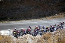 ایگور چژان فاتح مرحله چهارم تور دوچرخهسواری ایران - آذربایجان شد