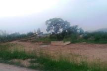 جنگل خواری و ویلاسازی در برخی اراضی لرستان