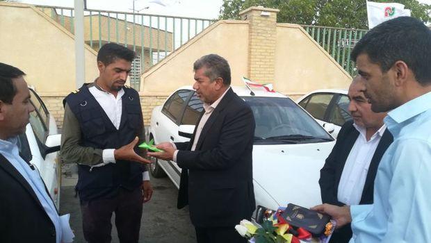 20 دستگاه خودرو سواری بین شهری در جنوب کرمان توزیع شد
