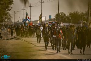پیاده روی زائران اربعین-3
