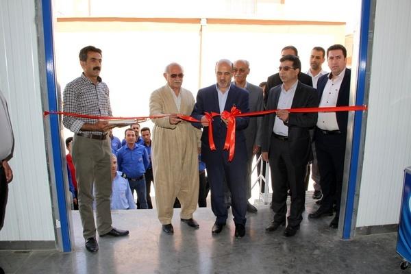 پروژه سردخانه یک هزار تنی در کردستان افتتاح شد