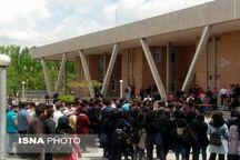 تجمع دانشجویان دانشگاه تبریز در اعتراض به خدمات نامطلوب و برخی از سیاستهای دانشگاه