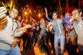 مردم مشهد پس از پیروزی ایران بر مراکش به شادمانی پرداختند