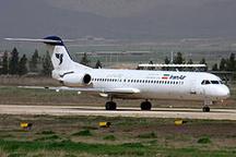 فرود هواپیمای فوکر با وجود نقص فنی در فرودگاه مهرآباد  لحظات پراضطراب برای ۸۰ مسافر هواپیما