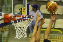 تیم بسکتبال شهرداری گرگان تیم آویژه صنعت مشهد را شکست داد