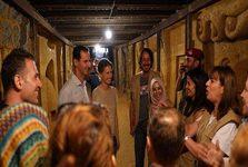 بازدید بشار اسد و همسرش از تونل مرگ در نزدیکی دمشق+ تصاویر