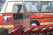 اتوبوس حامل کالای قاچاق خارجی در بندرلنگه توقیف شد