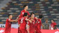 شگفتی سازی ویتنامی ها و حذف ناباورانه اردن در جام هفدهم