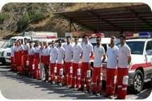 امدادرسانی هلال احمر گیلان به 242 حادثه دیده