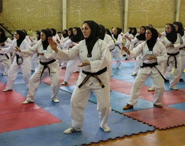 300 مربی زن پایتخت قوانین تکواندو را آموزش دیدند