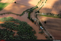 خطر به زیر آب رفتن، سوسنگرد را تهدید میکند   طغیان کارون بر سر مردم