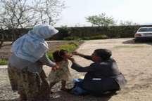 ایمن سازی 110 کودک پنج ساله اتباع بیگانه در آزادشهر علیه فلج اطفال
