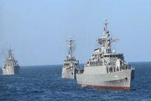 نیروی دریایی امنیت صادرات و واردات را در دریا تامین می کند