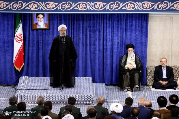 روحانی: اداره کشور بدون تغییر در ساختار بودجه و اقتصاد امکانپذیر نیست/ می توانیم به جای درآمد نفتی درآمد غیرنفتی را جایگزین کنیم/ ملت، رهبری، دولت و مجلس موجب ناکامی دشمن شدند