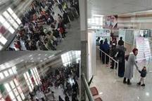 تردد ۲۴ هزار مسافر از پایانه مرزی  بیلهسوار تا دوم فروردین