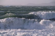 دریای خلیج فارس و غرب تنگه هرمز امروز و فردا مواج است
