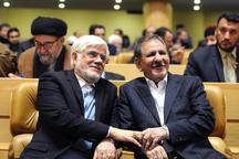 عکس معنادار جهانگیری و عارف در مراسم دومین سالگرد مرحوم آیت الله هاشمی