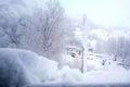 ارتفاع  برف در گردنه های استان مرکزی تا 70 سانتیمتر رسید