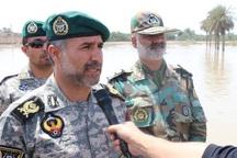 تکاوران نیروی دریایی ارتش به مناطق سیل زده خوزستان اعزام شدند