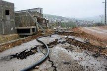 رانش زمین هفت میلیارد ریال به مخابرات کالپوش خسارت زد