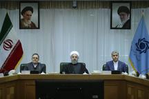 روحانی: در سال های گذشته به زمان قاجار برگشتیم/ برای ارتباط با دنیا، باید سیستم بانکی به روز شده و شفاف باشد