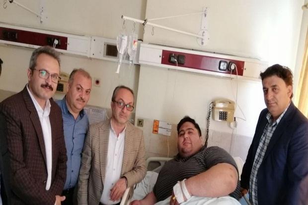 قویترین مرد معلول جهان تحت عمل جراحی قرار گرفت
