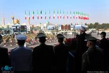 رئیس جمهور روحانی: ارتش هرگز وارد بازی های سیاسی نشده و به وصیت امام راحل به خوبی عمل کرده است
