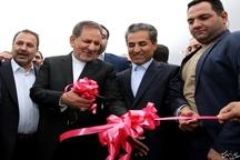 افتتاح تقاطع غیرهمسطح شهدای کشن با حضور جهانگیری