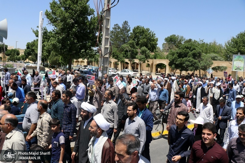 راهپیمایی باشکوه روز جهانی قدس در خمین - 7