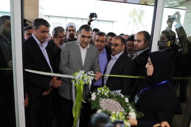 وزیر بهداشت بیمارستان 50 تختخوابی عباس آباد را افتتاح کرد