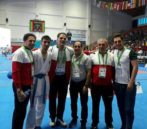 اولین مدال طلای کاراتهکا ناشنوا ایرانی