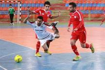 فوتسال لیگ برتر  پیروزی پُر گل ارژن شیراز برابر شهرداری ساوه