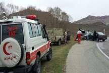 امدادگران جمعیت هلال احمر استان ایلام به 21 حادثه رانندگی مسافران نورزی امدادرسانی کردند