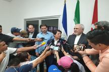 ظریف وارد پایتخت نیکاراگوئه شد