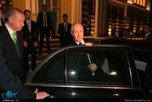 سفر پوتین به ترکیه+ تصاویر