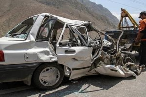 حوادث رانندگی جاده ای در استان مرکزی افزایش یافت