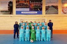 اردوی تیم ملی فوتسال بانوان در ساری آغاز شد