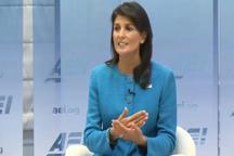 نیکی هیلی: ایران جهان را گروگان گرفته است / توافق برجام بسیار خطرناک است