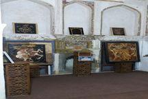نمایشگاه نگاره های چوبی در لاهیجان گشایش یافت