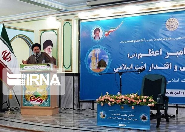وحدت کشورهای اسلامی، قدرتهای بزرگ را با خود همراه کرده است