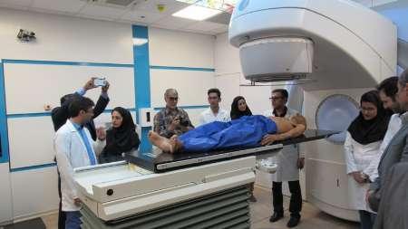 شروع کار مرکز رادیوتراپی و آنکولوژی در بیمارستان رازی بیرجند