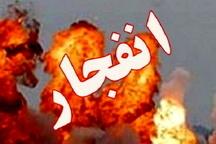 مصدومیت یک نفر بر اثر انفجار شدید در قائمشهر