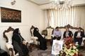 معاون استاندار آذربایجانشرقی با خانواده مرحوم آرش آزاد، طنزنویس فقید تبریزی دیدار و گفتوگو کرد