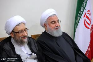 دیدار اعضای مجلس خبرگان رهبری با رهبر معظم انقلاب